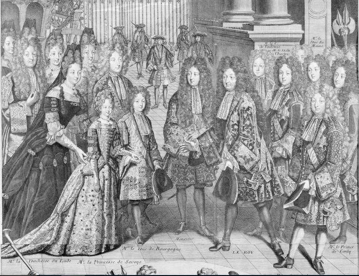 Les Alliances dynastiques des Maisons de France et d'Espagne Mariag11