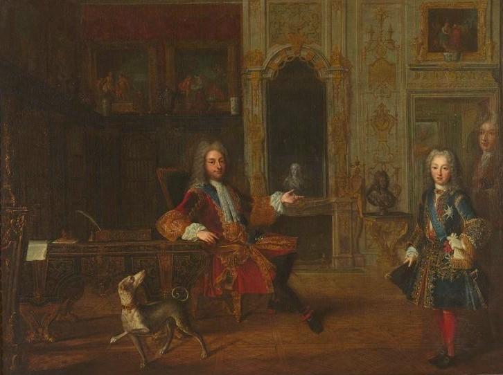 Du « Portrait du Roi » aux portraits du Régent Rygent12