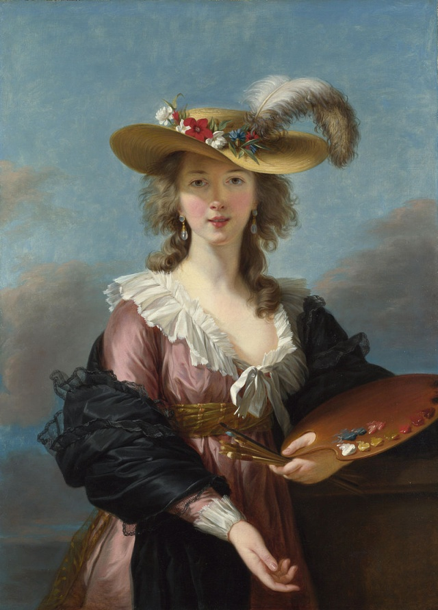 Arte : Le fabuleux destin d'Elisabeth Vigée Le Brun Self-p10