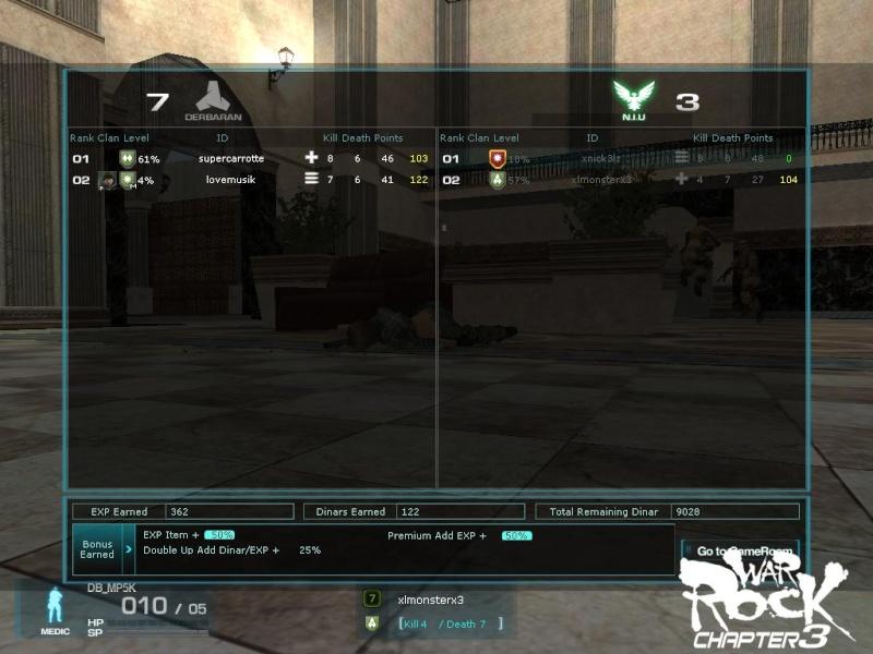 Fun War /TO/ vs. DBBZ Screen14