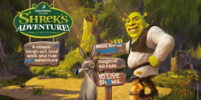[Attraction] DreamWorks Tours - Shrek's Adventure (Londres) Hero-s10