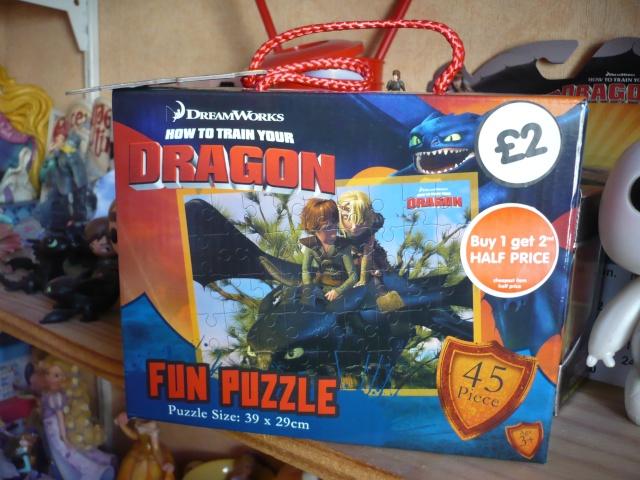 Produits dérivés Dragons P1270522