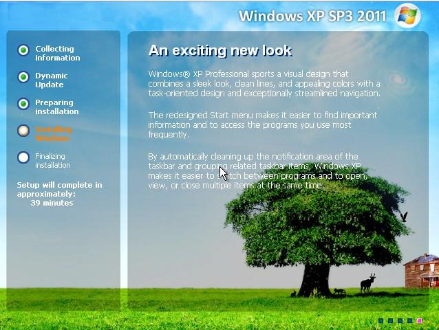 Windows XP SP3 2011 Autodriver  Winxps10