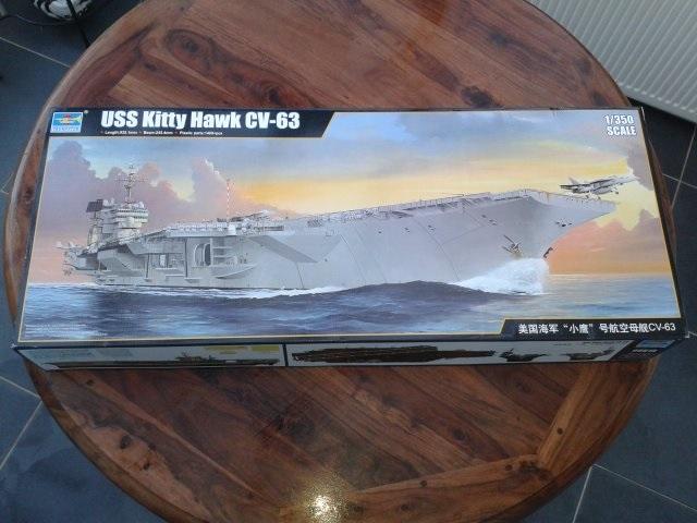 trumpeter USS CV63 Kitty Hawk 1/350 20151014