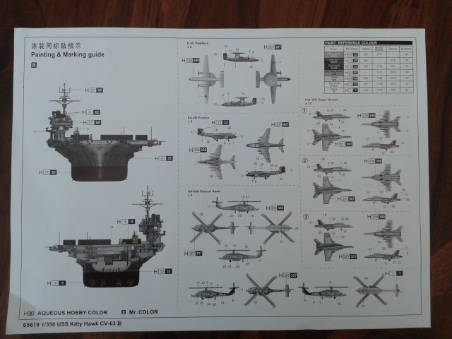 trumpeter USS CV63 Kitty Hawk 1/350 20151026