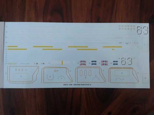 trumpeter USS CV63 Kitty Hawk 1/350 20151027