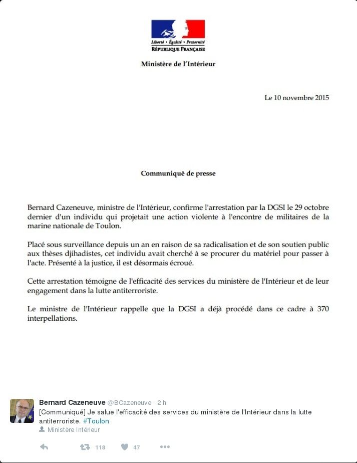 Suite mais pas encore fin des attentats commis à Paris... - Charlie et Hyper Casher Captur14