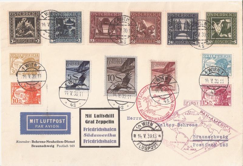 """Südamerikafahrt 1930 (Rundfahrt-) Post nach Friedrichshafen"""" - Seite 5 Ysterr10"""