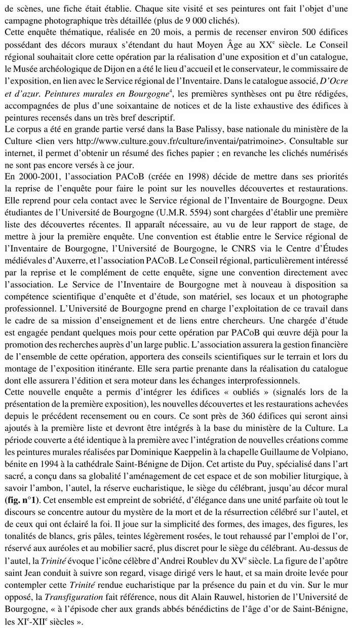 Exposition Pacob à l'église de la Chapelle-sous-Brancion aux Journées du Patrimoine 2015 03_cop11