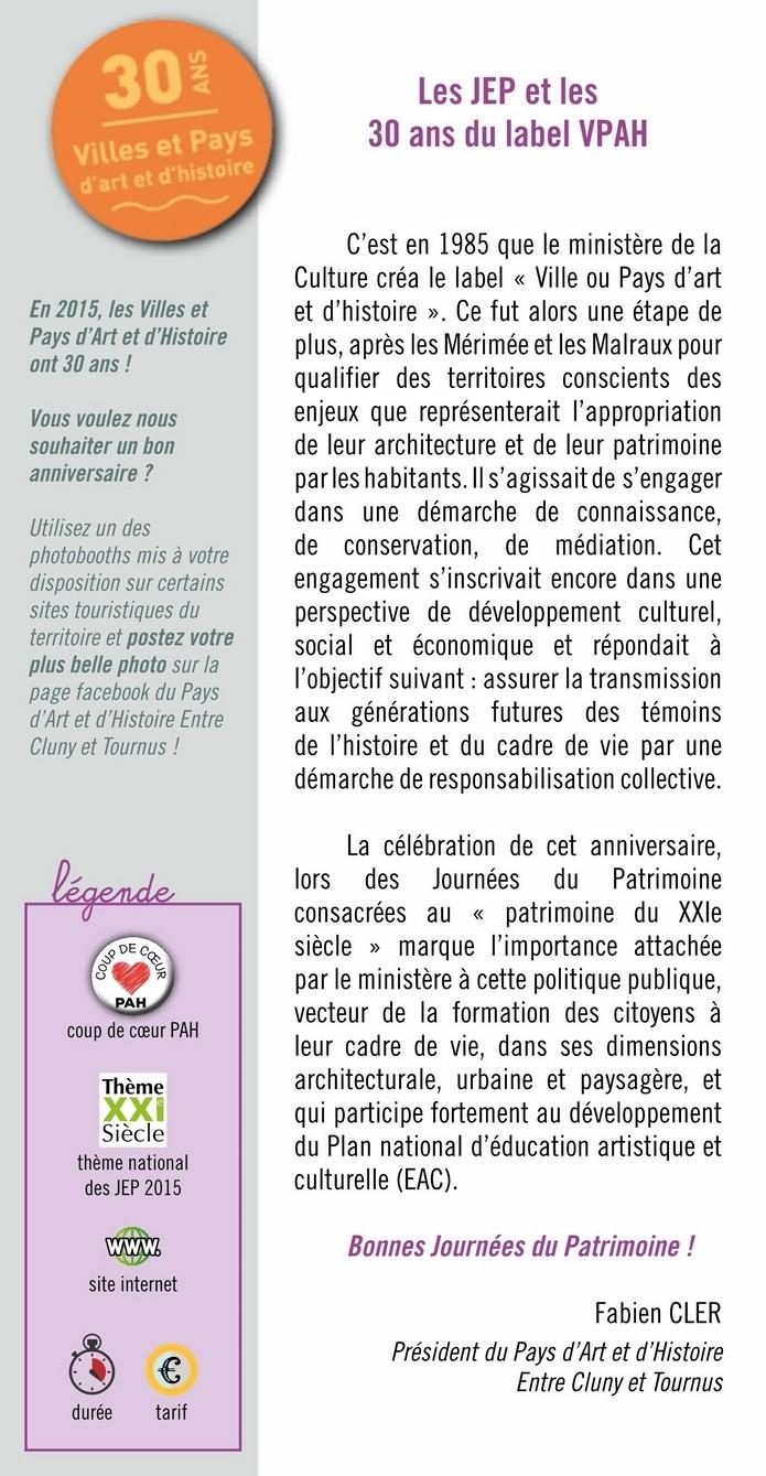 Newsletter n°27, septembre-octobre 2015 2-1_co10