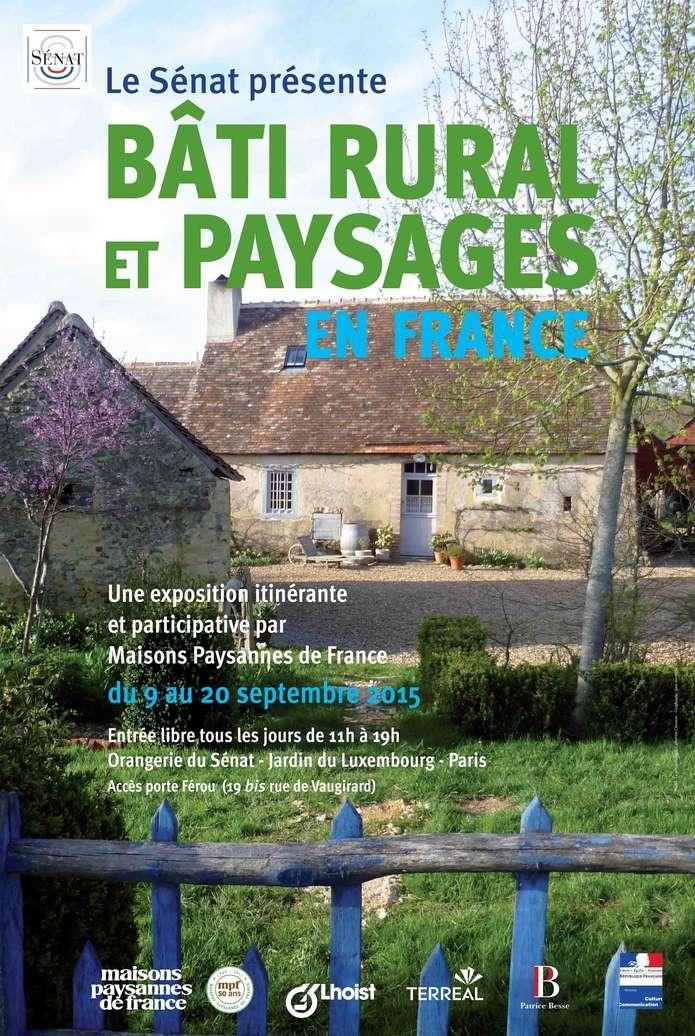 """Exposition """"Bâti rural et paysages"""" du mardi 3 novembre au mardi 11 novembre 2015 Affich11"""