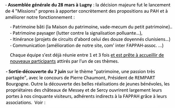 FAPPAhCTUALITÉS Lettre d'information n° 8 septembre 2015 RDB RR Assemb10