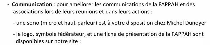 FAPPAhCTUALITÉS Lettre d'information n° 8 septembre 2015 RDB RR Comm10