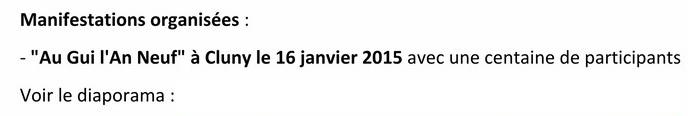 FAPPAhCTUALITÉS Lettre d'information n° 8 septembre 2015 RDB RR Diapo10