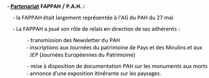FAPPAhCTUALITÉS Lettre d'information n° 8 septembre 2015 RDB RR Parten10