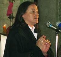 Visites de Myrna Nazzour de Notre Dame de Soufanieh (Damas, Syrie), en France en 2015 et 2016 Myrna10