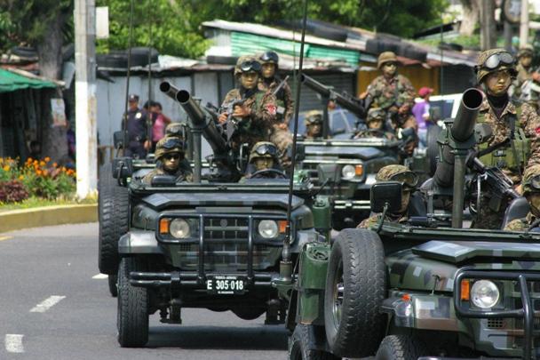 Forces armees du Salvador/Armed Forces of El Salvador 4305