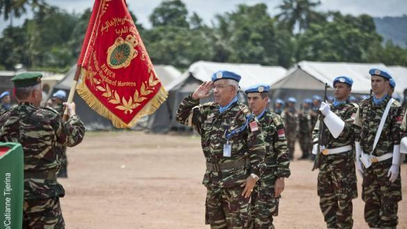 Maintien de la paix dans le monde - Les FAR en République Centrafricaine - RCA (MINUSCA) - Page 2 463