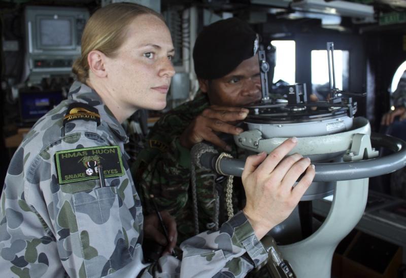 Force de défense du Timor oriental /  The East Timor defence force  518