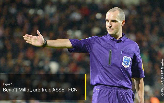 L1 - J6 - AS Saint-Etienne - FC Nantes - Dim. 20 septembre 201517:00 - Stade Geoffroy-Guichard Arbitr11