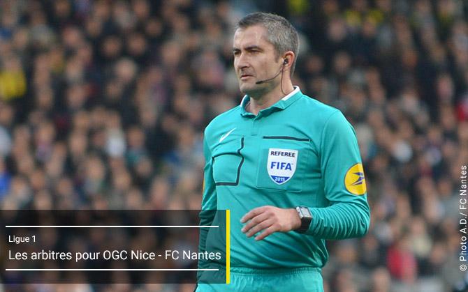 L1 - J9OGC Nice- FC Nantes - Sam. 03 octobre 2015 - 20:00 - Stade de l'Allianz-Riviera  Arbitr13