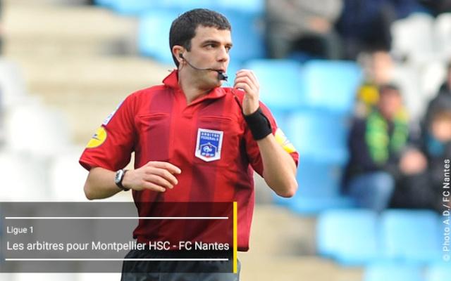 L1 - Journée13 - Montpellier HSC - FC Nantes ...  Arbitr17