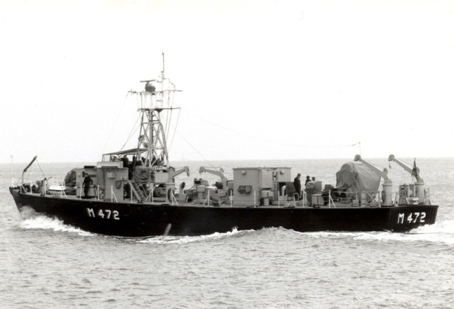 """les dragueurs MSI en service RDS """"Ready Duty Ship"""" M472-113"""