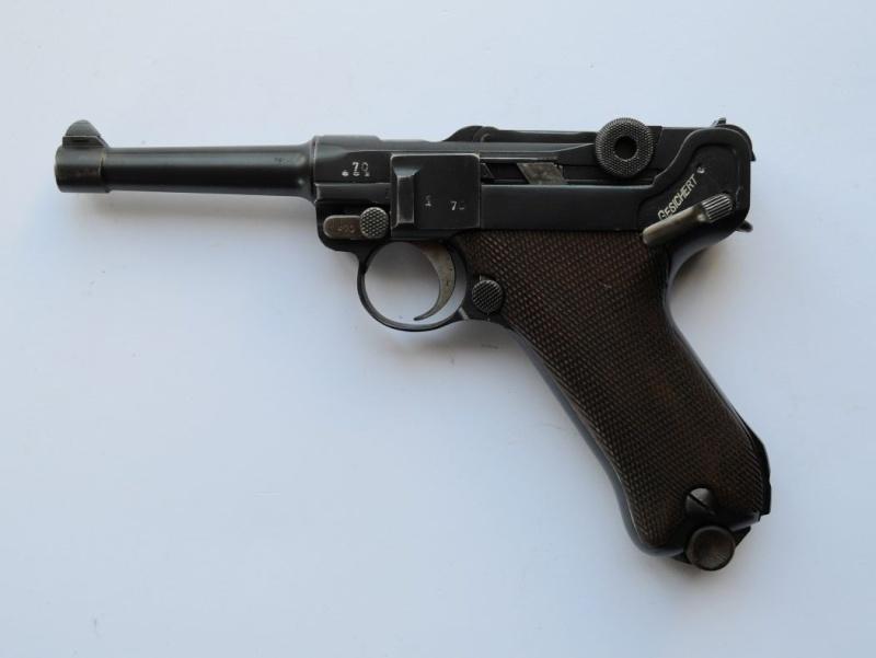 Un rare P 08 Erfurt KL. 1933 Erfurt11