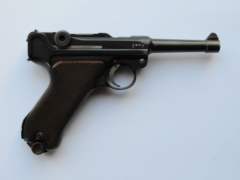 Un rare P 08 Erfurt KL. 1933 Erfurt12