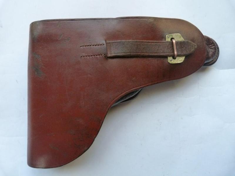Les étuis en cuir pour les Luger bulgares 1900, 1906, 1908 et byf 42. Holste28