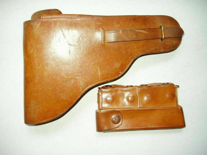 Les étuis en cuir pour les Luger bulgares 1900, 1906, 1908 et byf 42. Holste29