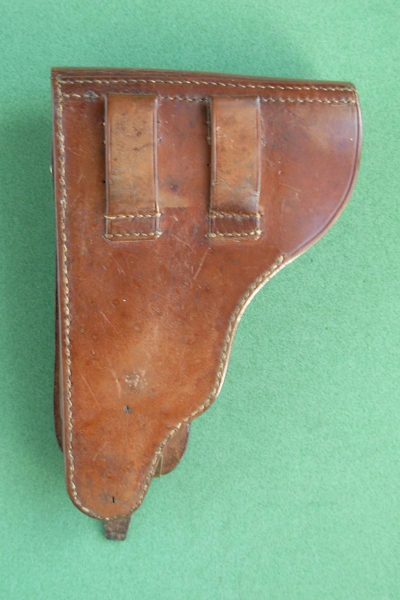 Les étuis en cuir pour les Luger bulgares 1900, 1906, 1908 et byf 42. Holste35