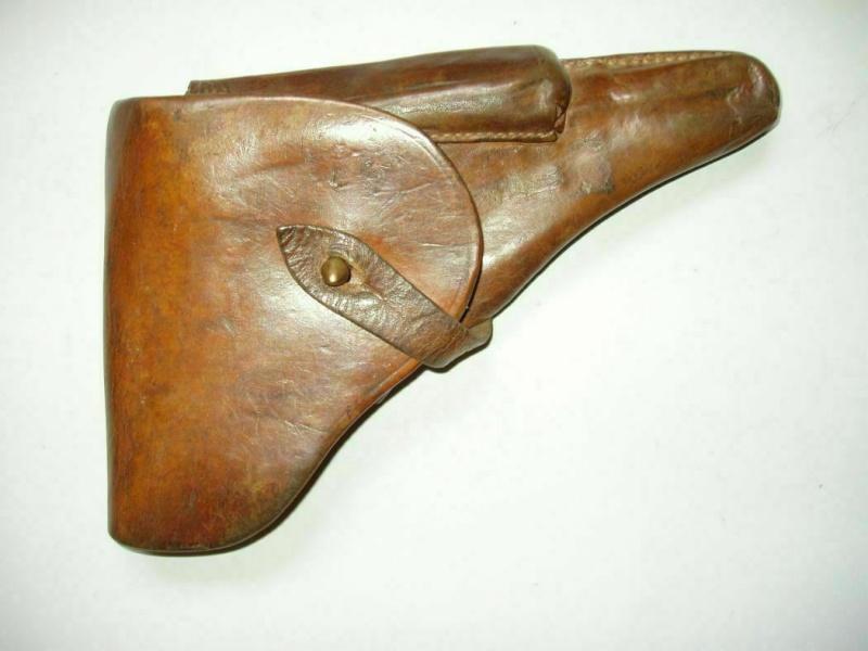 Les étuis en cuir pour les Luger bulgares 1900, 1906, 1908 et byf 42. Holste38