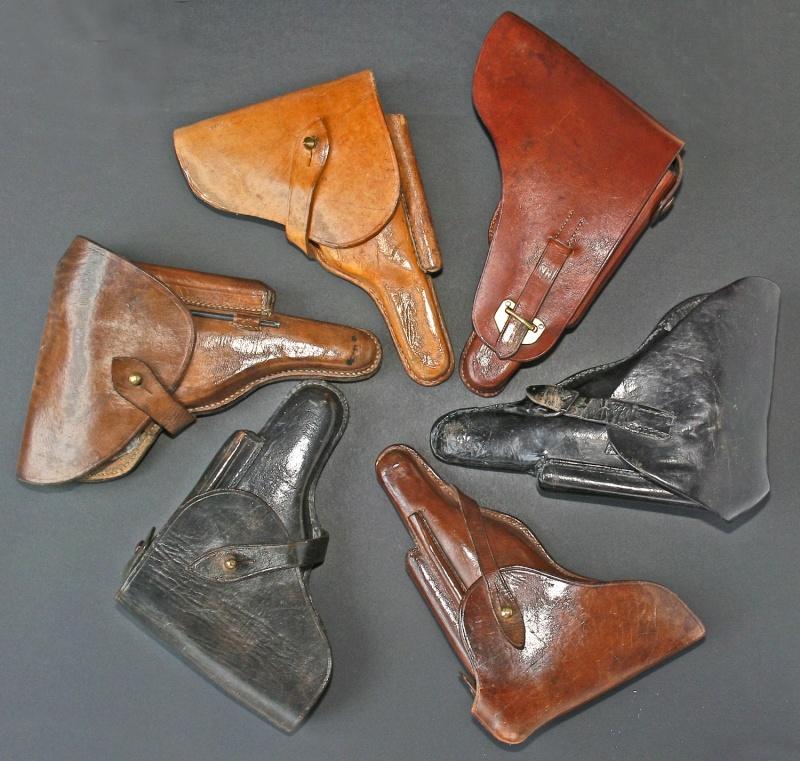 Les étuis en cuir pour les Luger bulgares 1900, 1906, 1908 et byf 42. Holste39