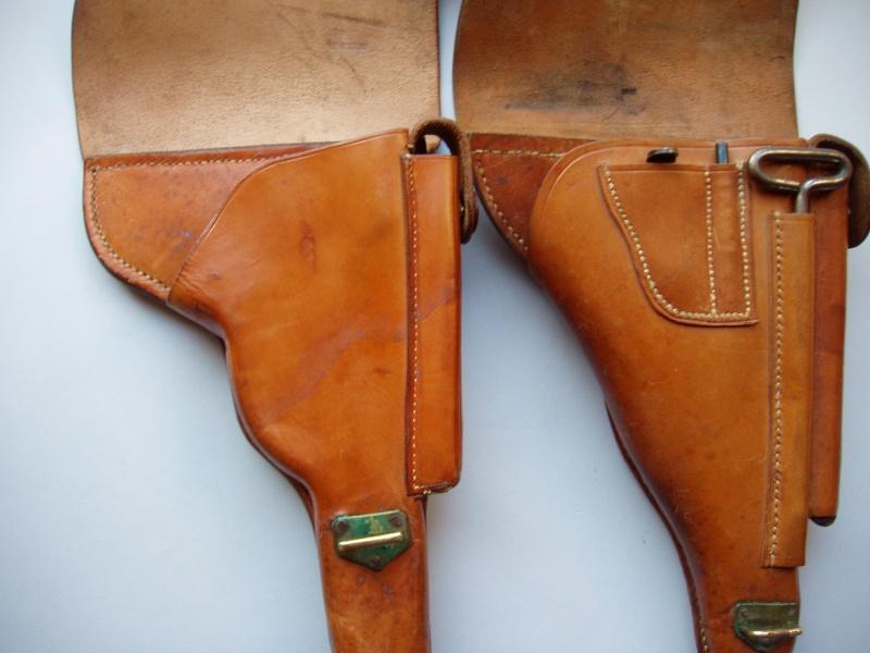 Les étuis en cuir pour les Luger bulgares 1900, 1906, 1908 et byf 42. Holste40