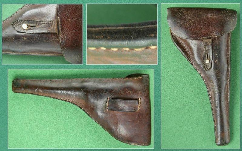 Les étuis cuir et autres pour les P 08 d'artillerie 1913-1946. Holste49