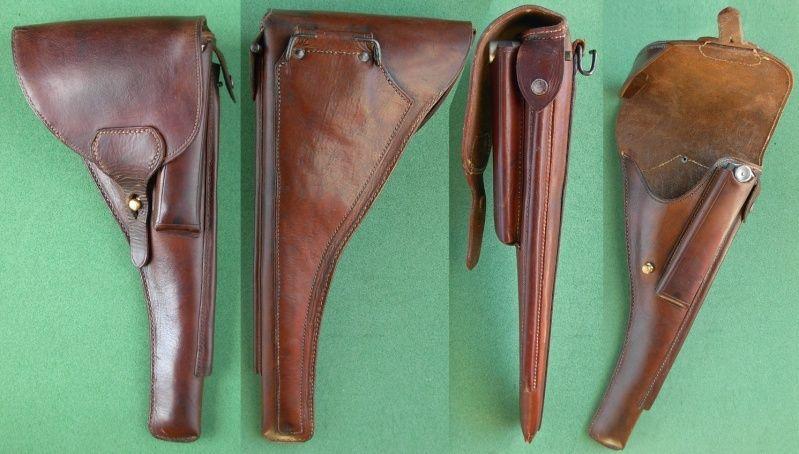 Les étuis cuir et autres pour les P 08 d'artillerie 1913-1946. Holste59