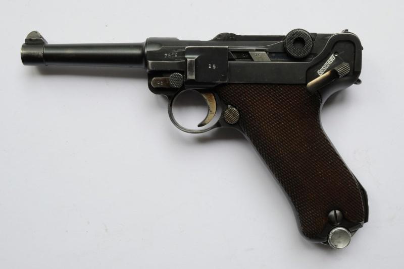 Un rare P 08 Mauser de la Kriegsmarine allemande, de 1935, codes G et S/42. Mauser11