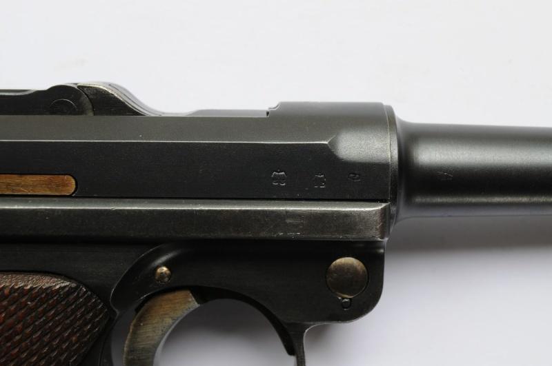 Un rare P 08 Mauser de la Kriegsmarine allemande, de 1935, codes G et S/42. Mauser17