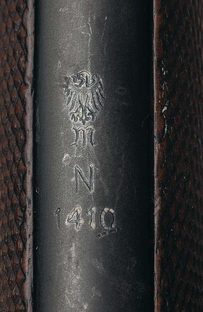 Un rare P 08 Mauser de la Kriegsmarine allemande, de 1935, codes G et S/42. Mauser19