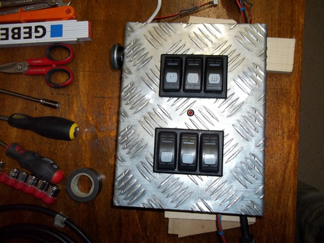 Console da tetto Wrangler Consol10