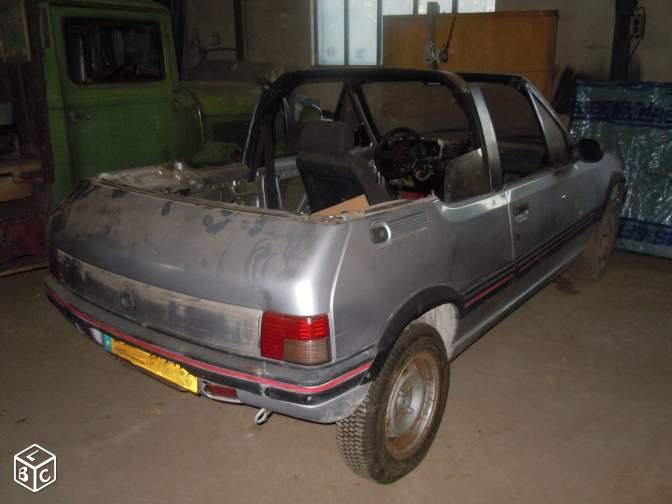 [ Peugeot 205 Cabriolet 1.4 85cv TU ] Grosse remise en forme  205cab10