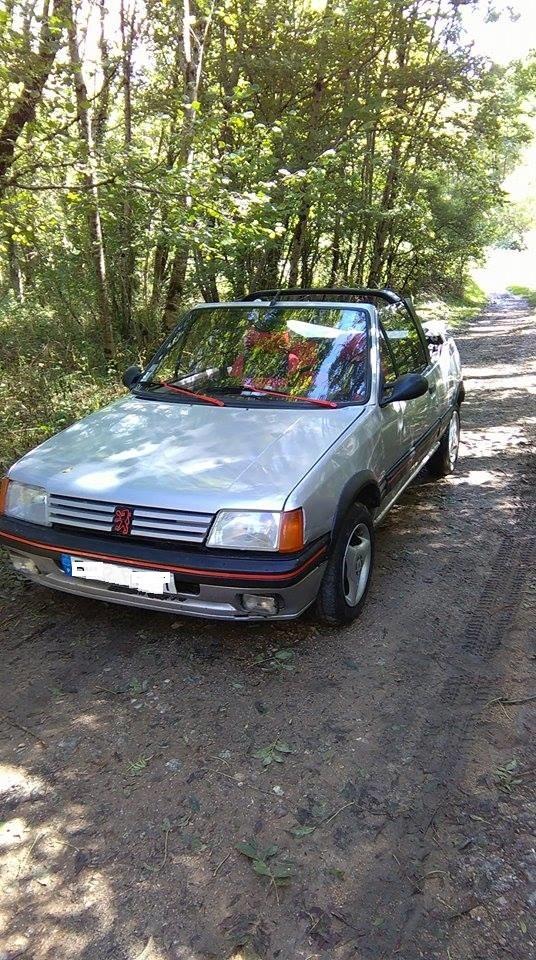 [ Peugeot 205 Cabriolet 1.4 85cv TU ] Grosse remise en forme  210