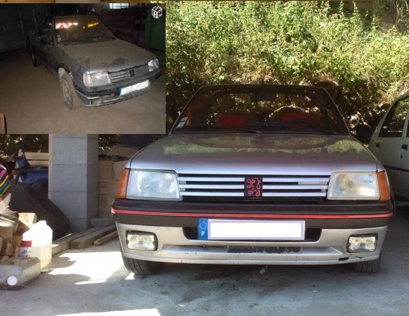 [ Peugeot 205 Cabriolet 1.4 85cv TU ] Grosse remise en forme  Cab6910
