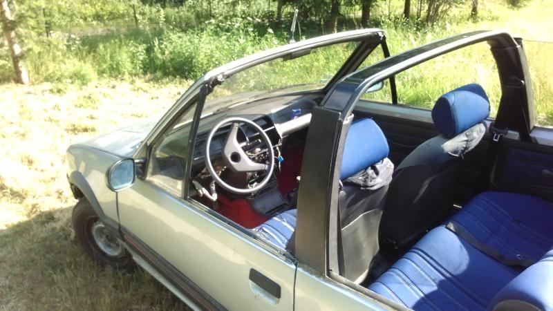 [ Peugeot 205 Cabriolet 1.4 85cv TU ] Grosse remise en forme  Cab910