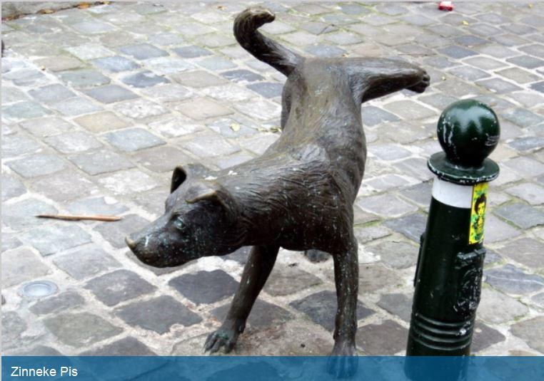 Des statues amusantes ! Chien10