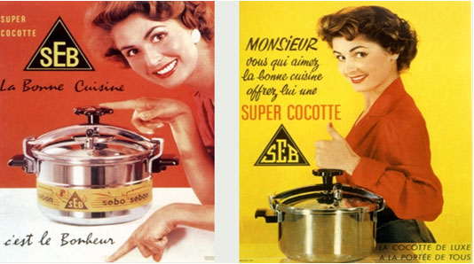Les aniennes affiches publicitaires. - Page 4 Cookin10