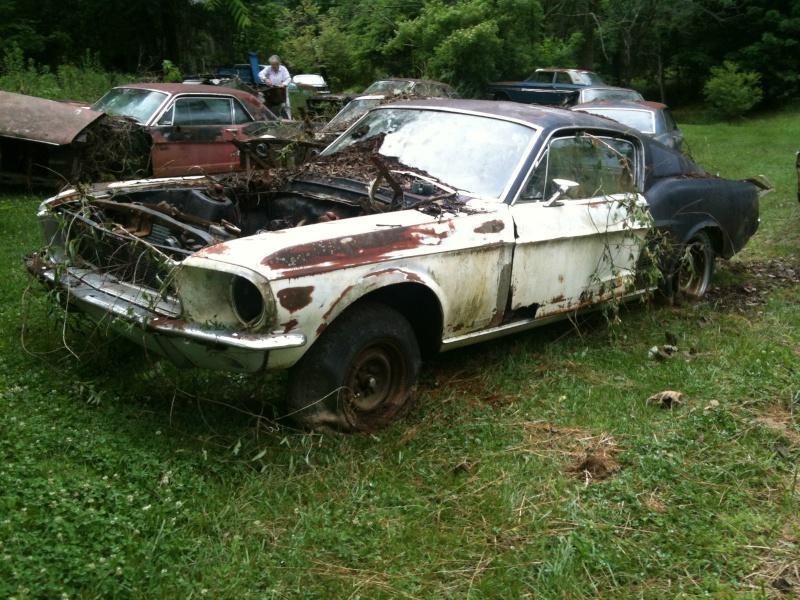 D'autre photos d'épave de Mustang 1967 1968 67_510