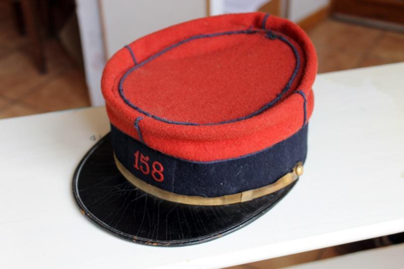 Képi sous-officier type 1884 - 158ème RI - Superbe état ESC 1 [VENDU] Img_9910
