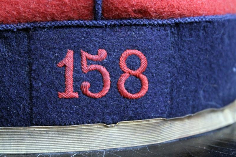 Képi sous-officier type 1884 - 158ème RI - Superbe état ESC 1 [VENDU] Img_9916